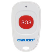 OWSOO Wireless Security SOS Button Emergency Help Button Home Security Alarm System 433.92MHz Frequency 1527 protocol