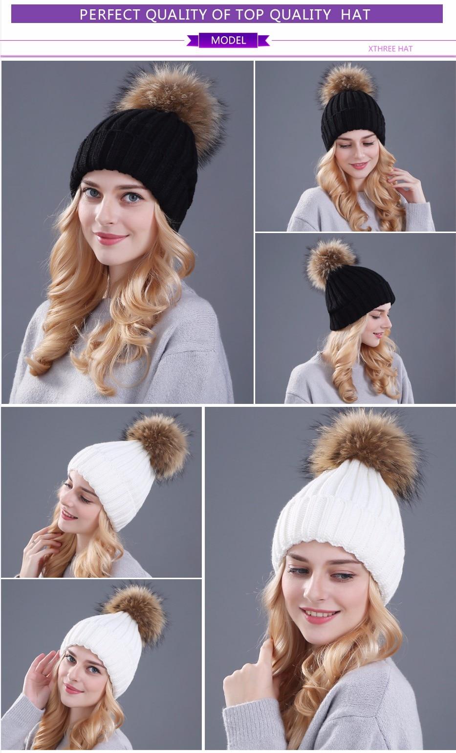 قبعات صوفية  بالوان مختلفة 6