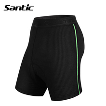 Santic Men's Cycling Shockproof Underwear Mountain Bike Bicycle 4D Pad Cushion Bermuda Outdoor Men's Sportswear Quick Dry Short(China)