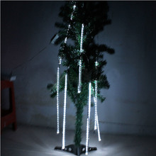 LED Waterproof Snowfall Meteor Light Christmas Lights Outdoor 100-240V(China)