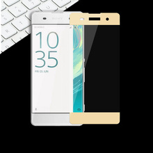"Full Tempered Glass Screen For Sony XA Dual F3111 F3113 Protective Toughened Film 5"" For Sony Xperia XA Glass Protective Film"