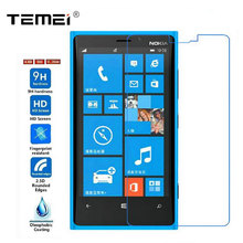 Tempered Glass Screen Protector Premium 0.26mm 2.5D 9H w/ Safe Packing Skin Film Guard for Nokia Lumia 920 930 830 730 1520(China)