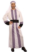 2017 New Adults Men Dubai Prince Cosplay Costume Arab King Robe Clothing Halloween Party Fancy Dress Performance Costumes