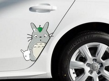 28*16CM Cute Miyazaki Dragon Cat Car Sticker Customizable Whole Collection Car Decals Games Waterproof Protective Film(China)