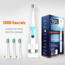 2016 Safety brand quality Electric Toothbrush Ultrasonic Sonic Rotary Electric Replacement Heads 45000/min Teeth Brush(China)