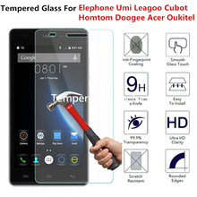 Tempered Glass Screen Protector For Doogee X5 Max X6 Pro Homtom HT3 HT17 HT7 Oukitel K6000 Umi Rome London Leagoo M5 film Case