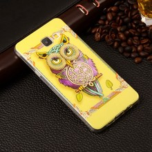 "A510 Pattern Rubber Tribe Soft TPU Cover For Samsung Galaxy A5 (2016) A510 A510F 5.2"" Mobile Phone Protective Case"