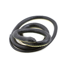 Halloween Realistic Soft Rubber Toy Snake Safari Garden Props Joke Prank Gift About 125cm Novelty and Gag Playing Jokes Toys