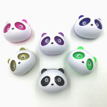 2pcs Car-Styling Panda Car Air Freshener Perfumes 5ml Solid OEM Air Conditioning Vent Flavoring In The Car Parfums(China)