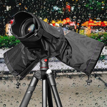 Besegad Waterproof Water Proof Camera Rain Cover Rainshade Protector Case Coat for DSLR Cameras Canon Nikon Sony Pentax(China)