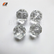 Optic FIber Lighting Crystal Ends Fittings 14mm Fiber Optic Light Crystal Beads 100pcs/lot for Chandelier Pendants