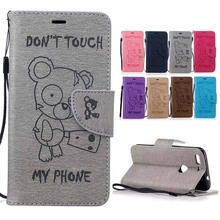 For ( Google Pixel XL ) Case Cute Bear Pattern Leather Wallet Flip Cover sFor Google Pixel XL 5.5 inch Mobile Phone Bags Coque(China)