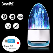 Mini Bluetooth Speaker Portable Wireless LED Fountain Water Dance Bluetooth Receiver Caxia De Som Loudspeaker For Phone