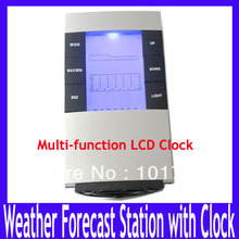 Indoor digital humidity temperature meter tester max min forecast comfort level display