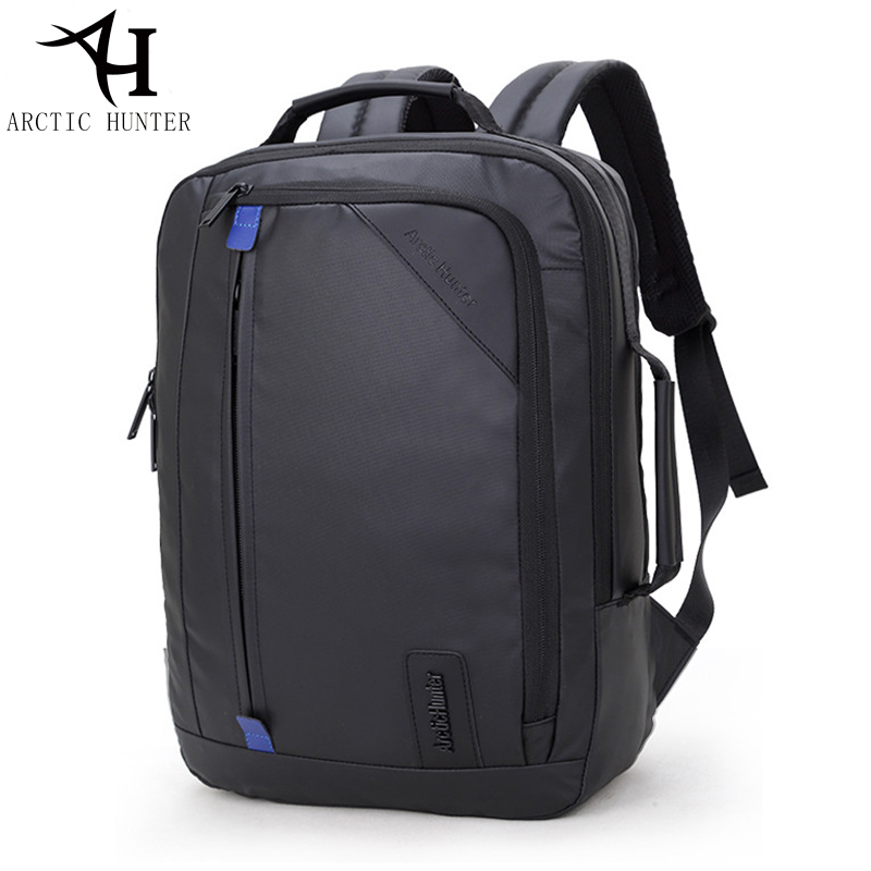 ARCTIC HUNTER Multifunction waterproof backpack men 15.6 inch laptop backpacks Business travel back pack &amp; Hand bag Dual use <br>