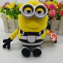 Ty Beanie babies collection Plush Toy 18cm TOM JERRY Descapible Me3 Minion Kids Toy Birthday Gift Stuffed Animal soft toy