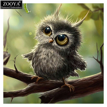 Full square diamond 5D Diamond Painting Cross Stitch Pattern 3D diy Diamond Embroidery Owl Mosaic Resin Full Drill Home Decor ZX(China)