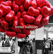 18inch 100pcs Red heart  Balloons inflatable love foil Balloon wedding Valentine day Wedding Decorations helium balloon globos