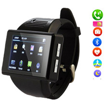 AN1 Smart Watches Cell Phone Android 4.1 512MB+4GB 2.0 Inch Touch Screen smat Watch Mobile Phone 2.0 MP WiFi FM GPS pk dz09 x01s(China)