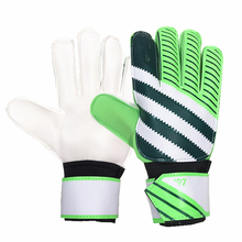 Football Goalkeeper Gloves New Adult Professional Thicken Full Latex Goal Keeper Guard Non-slip Breathable Goalkeeper Gloves(China)