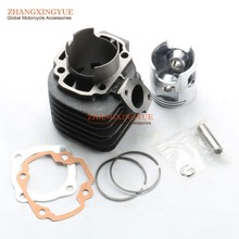 Buy 54mm big bore kit Cylinder Set Scooter Yamaha JOG90 4DM Polaris 90 Hurricane 90 for $72.99 in AliExpress store