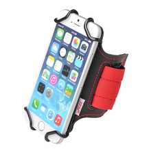 TFY Running Armband Wrist Band Holder with Key Slot for 4 inch to 5.4 inch cell phone - iP hones, Smasung Galaxy Phones - Huawei(China)