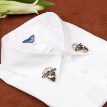 yizunzhiduo Korean autumn and winter shirt fake collar cotton Detachable Tooling Collars Women Clothes Accessories A45(China)