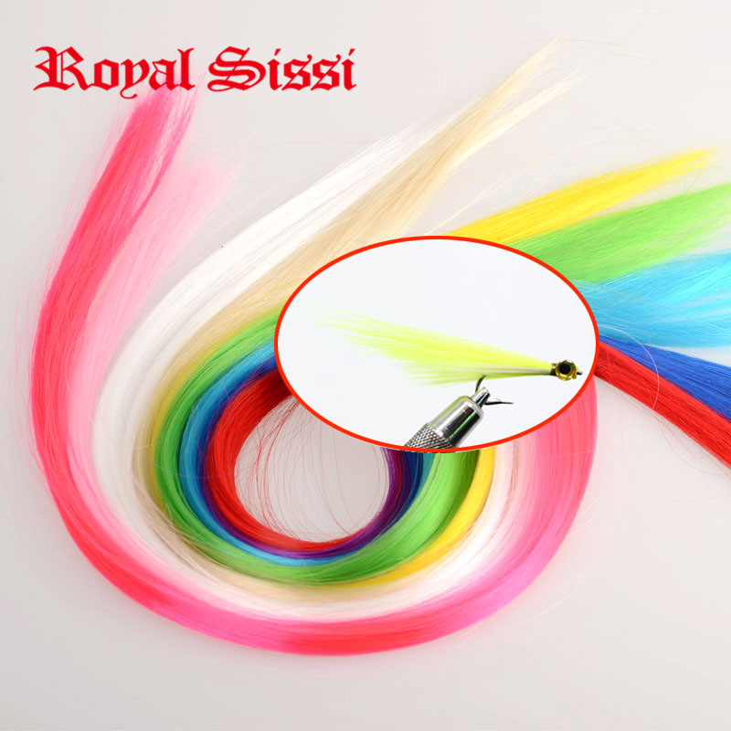 12colors Assorted Durable minnow Fibers saltwater herl Bait fly Tying Material/ Synthetic hair Fibres for pike&amp;bass flies making<br><br>Aliexpress