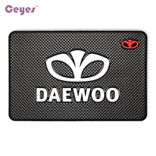 Car-Styling Mat Car Sticker Emblems Badge Case For Daewoo Logo Winstom Espero Nexia Matiz Lanos Interior Accessories Car Styling(China)
