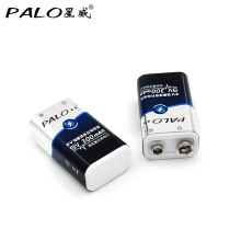 Factory direct sale 2pcs power battery 6F22 006p 9V Nimh 300mah rechargeable battery for instruments