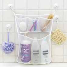 Bathroom Children Bath Bathtub Toy Mesh Net Storage Bag Organizer Holder E2S