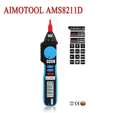 AIMOTOOL  AMS8211D Pen Type Digital Multimeter Auto Ranging Clamp Meter Non-Contact Voltage Meter Tester
