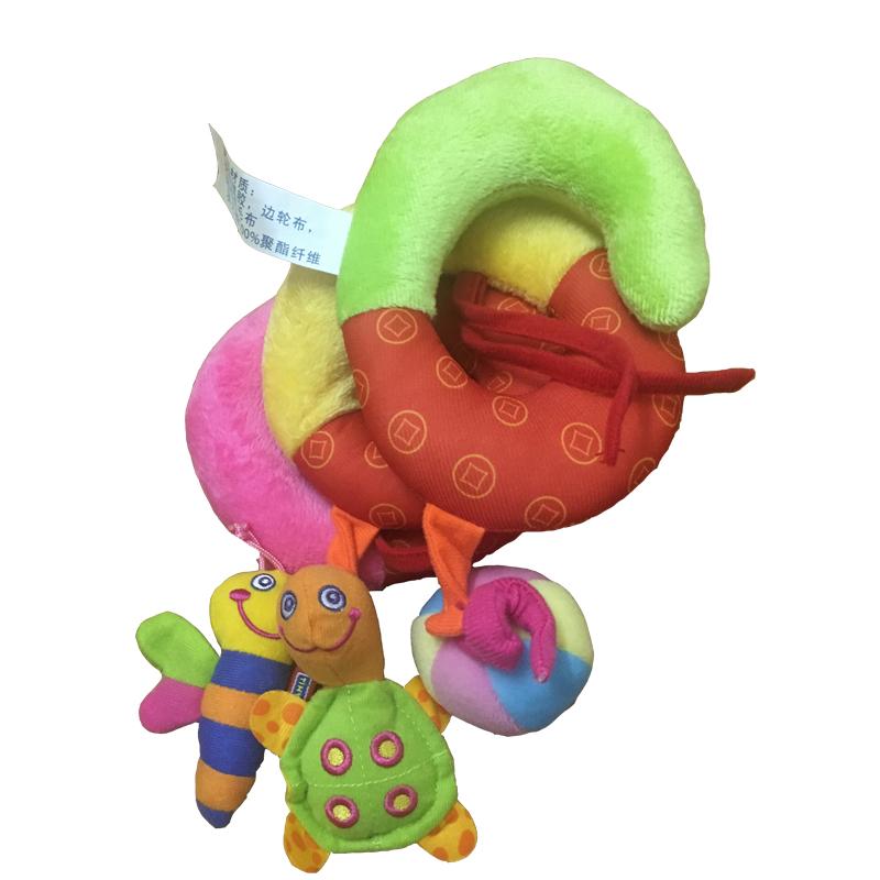 Soft Infant Crib Bed Stroller Toy 2