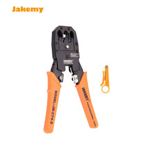 4P 6P 8P JAKEMY JM-CT4-3 cutting crimping Network Ethernet telephone network cables Plier repair tool set + wire cutter