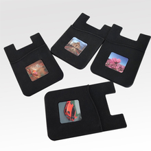 2-in-1 Silicone Phone Wallet & Removable Microfiber Cleaner  wallet case