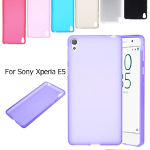 Phone Cases for Sony Xperia E 5 TPU Shell Frosted TPU Protective Case Cover for Sony Xperia E5 Mobile Phone Bag - Hot Selling