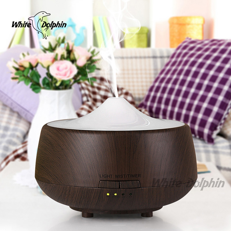 Essential Oil Diffuser Ultrasonic Aroma Mist Maker Portable Aromatherapy Diffuser Mini Air Humidifier For Home With LED Light<br>