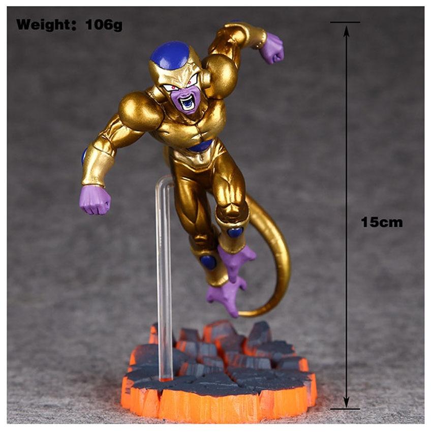 Anime New Dragon Ball Freezer Golden Figuarts PVC Action Figure Dragon Ball Z Model Toy 15cm K218<br><br>Aliexpress