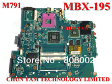 Original MBX-195 M791 laptop motherboard For Sony Vaio VGN-NS Series Notebook PC System board 1P-0089J00-8010 90 Days Warranty