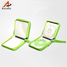 A Ausuky Envelope Many Style 40 Disc Capacity DVD CD blocker Case for Car Media Storage CD Bag -20(China)