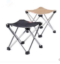 Ultralight portable folding  outdoor  chairs Mazar train small aluminum fishing chair sketching