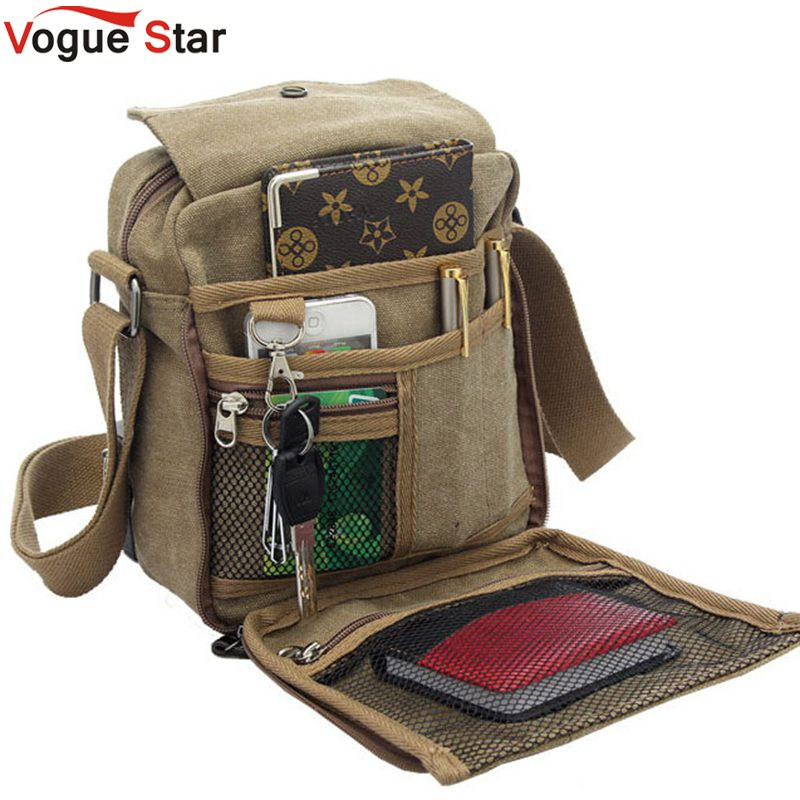 Vogue Star Hot sale mens messenger bags men travel bags canvas bag cross-body bag high quality pouch men purse  YB40-419<br><br>Aliexpress