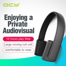 QCY sets QCY50 noise cancelling earphones HIFI sound wireless bluetooth 4.1 headphones 3D stereo headset with MIC for all phones(China)