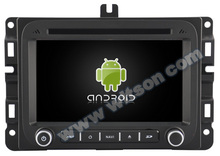 "7"" Quad Core Android 4.4.4 Special Car DVD for Dodge RAM 1500 2014-2016 with 1024*600 Resolution & Built-in Analog TV Function"