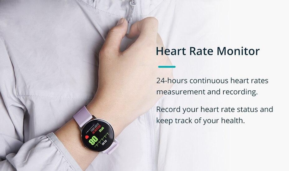 COLMI V11 Smart watch IP67 waterproof Tempered glass Activity Fitness tracker Heart rate monitor BRIM Men women smartwatch 3