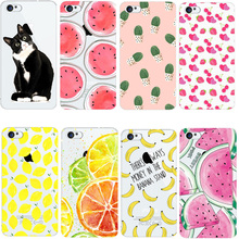 animal Fruit Lemon Banana TPU Soft Silicon Transparent Thin Case Cover For iPhone 7 7Plus 4 4S 5 5S SE 5C 6 6S 6Plus 6s Plus