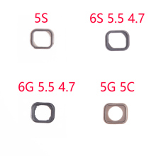 1Pcs NEW Home Button flex Holding Gasket Rubber Spacer For iPhone 5 5S 6 6S Plus Repair Parts