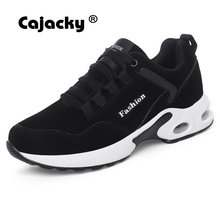 Buy Cajacky Winter Warm Casual Shoes Men Cow Suede Sneakers Unisex Leather Shoes Breathable Krasovki Male Fashion Comfortable Shoes for $18.34 in AliExpress store