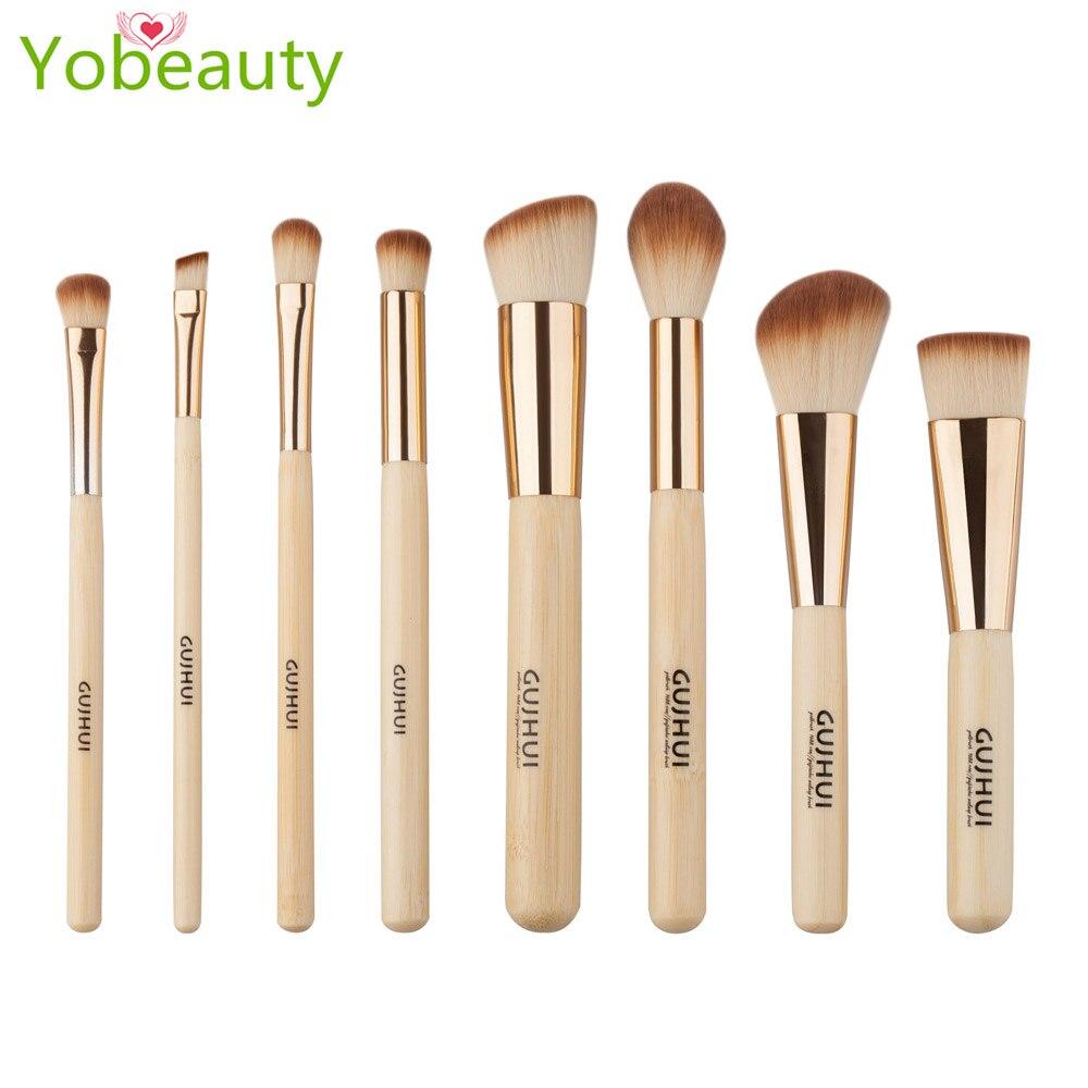 Premium Makeup Brush Set naked brushes foundation brush 8pcs Eyes Shadow Smudge Blending Contour Eyeliner Eyebrow Makeup Tools<br>
