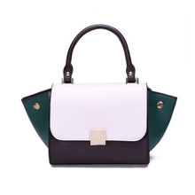 2017 New European And American Style Fashion Classic Hit Color Women Bag Handbag Shoulder Diagonal Female Messenger B